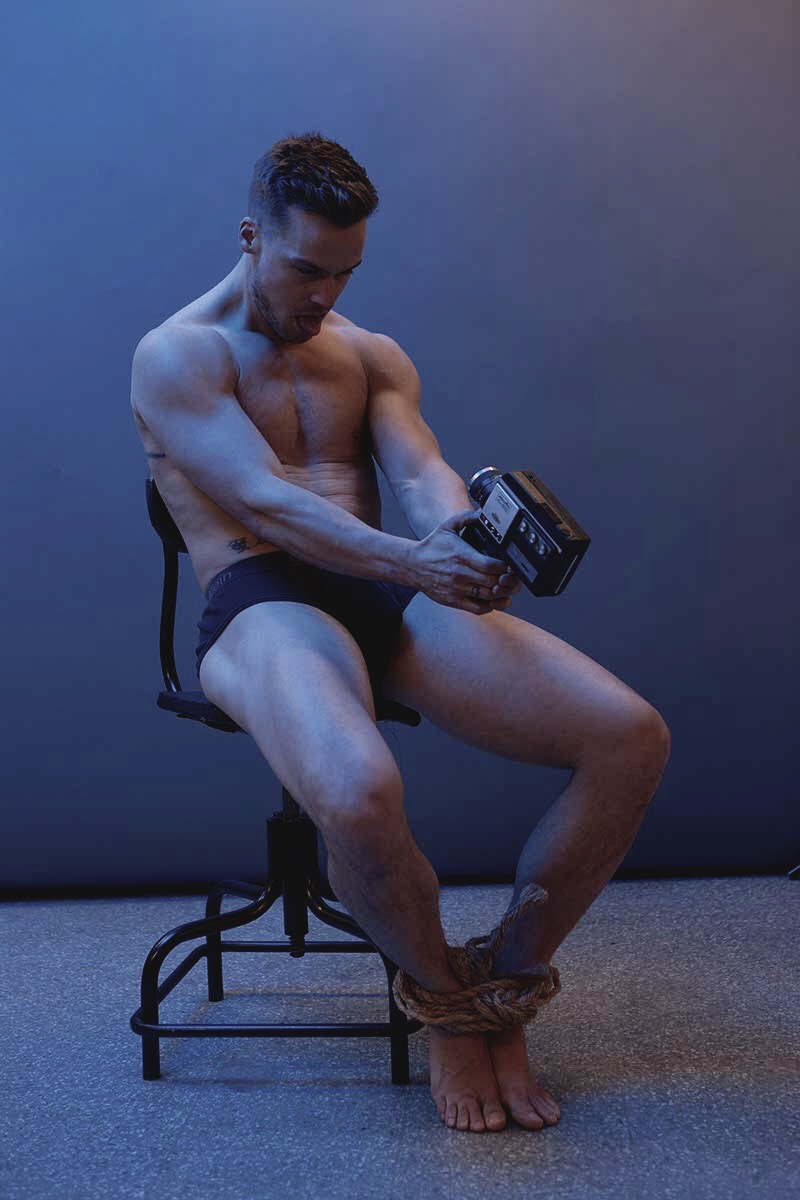 Photographer Darren Black captures an artsy session featuring striking dancer, choreographer & model Jason Beitel.