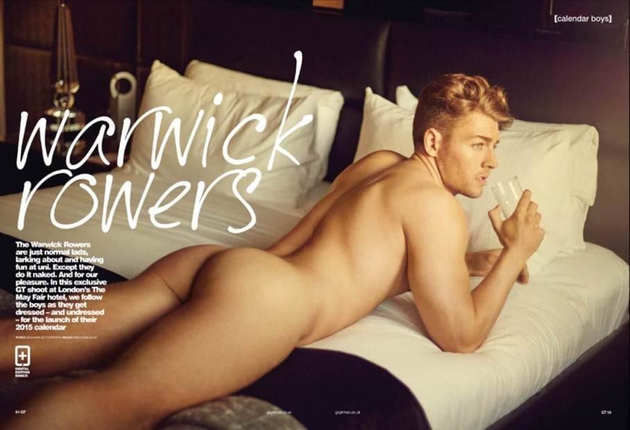 Laurence Hulse for Gay Times Magazine
